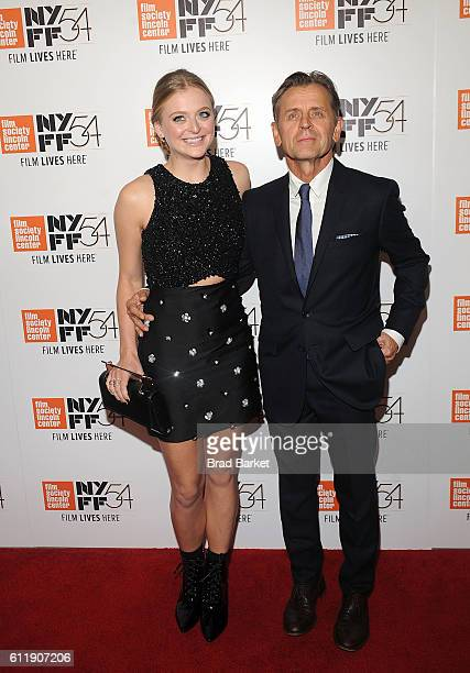 Anna Baryshnikov and Mikhail Baryshnikov attend the 54th New York Film Festival 'Manchester by the Sea' World Premiere at Alice Tully Hall at Lincoln...