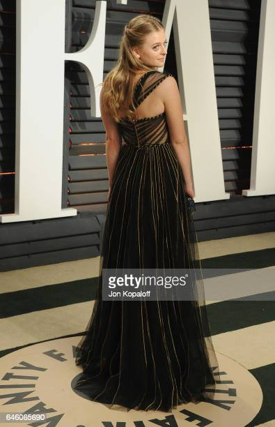 Anna Baryshnikov arrives at the 2017 Vanity Fair Oscar Party Hosted By Graydon Carter at Wallis Annenberg Center for the Performing Arts on February...