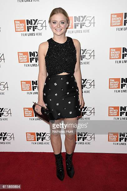 Anna Baryshnikov attends the 'Manchester by the Sea' world premiere during the 54th New York Film Festival at Alice Tully Hall at Lincoln Center on...
