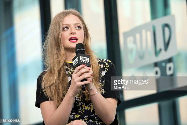 Anna Baryshnikov visits Build Studios to discuss 'Superior Donuts' at Build Studio on April 27 2017 in New York City