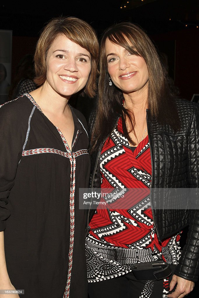 Anna Belknap and Jeanne Elfant Festa attend the Step Up Women's Network Women Who Rock Event at The Roxy Theatre on March 6, 2013 in West Hollywood, California.