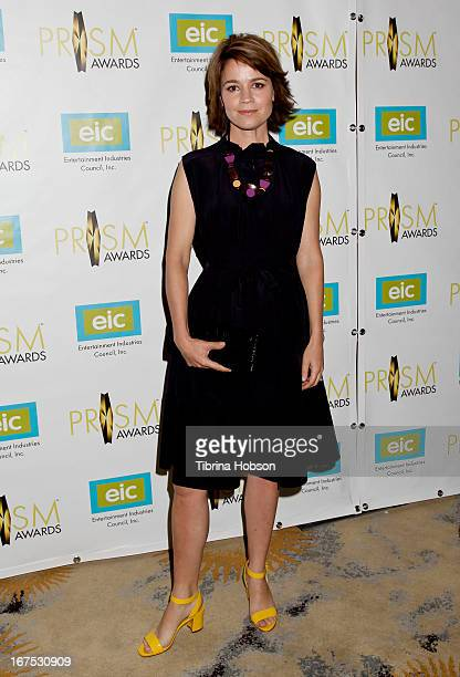Anna Belknap attends the 17th annual Prism Awards at Beverly Hills Hotel on April 25 2013 in Beverly Hills California