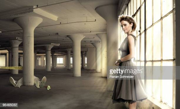 Anna Belknap of CSI New York poses for Emmy Magazine in Los Angeles December 2009 ON EMBARGO UNTIL MARCH 1 2010