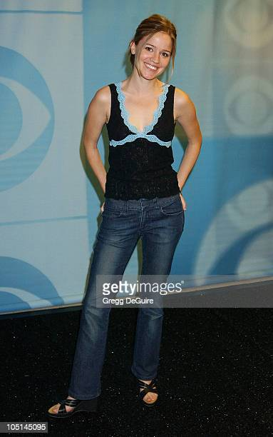 Anna Belknap of 'The Handler' during 2003 TCA Summer Press Tour CBS Party in Hollywood California United States