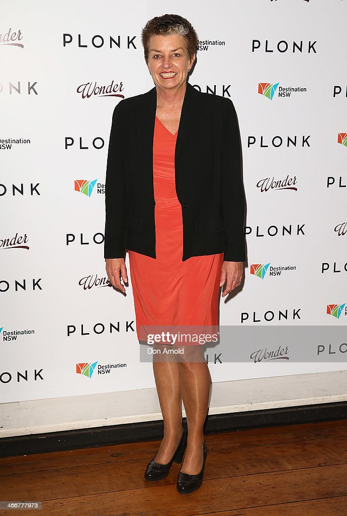 <a gi-track='captionPersonalityLinkClicked' href=/galleries/search?phrase=Anna+Bligh&family=editorial&specificpeople=4383603 ng-click='$event.stopPropagation()'>Anna Bligh</a> poses during the PLONK media launch at Palace Verona on February 4, 2014 in Sydney, Australia.