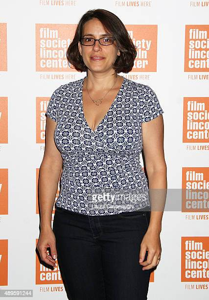Anna Boden attends the The Film Society Of Lincoln Center Sneak Previews 'Mississippi Grind' at The Film Society of Lincoln Center Walter Reade...