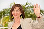 Anna Bonaiuto at the photo call of 'Il Divo' during the 61st Cannes Film Festival