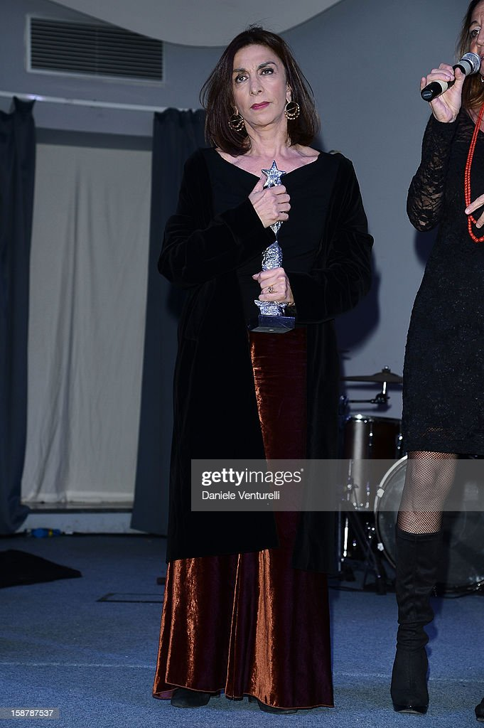 Anna Bonaiuto attends Day 3 of the 2012 Capri Hollywood Film Festival on December 28, 2012 in Capri, Italy.