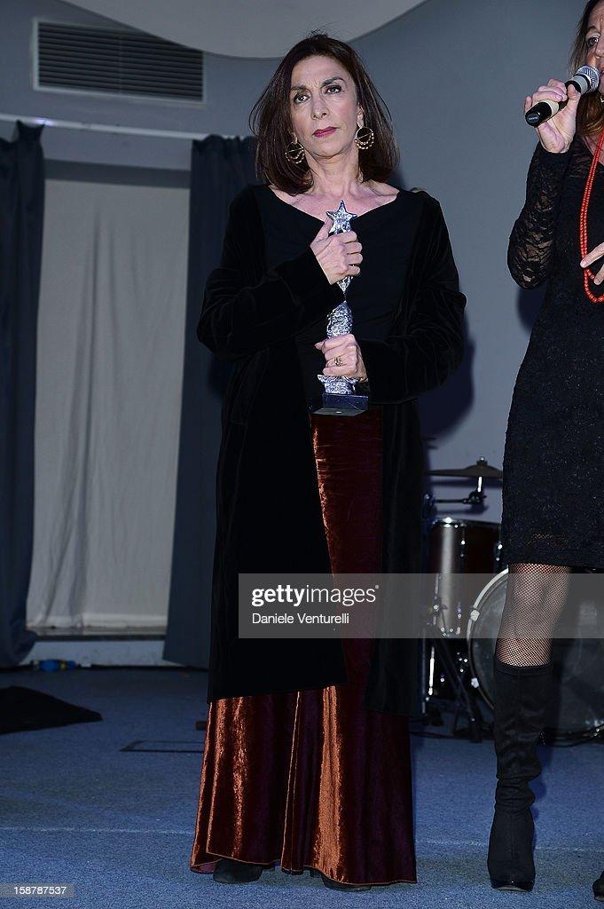 Anna Bonaiuto attends Day 3 of the 2012 Capri Hollywood Film Festival on December 28 2012 in Capri Italy