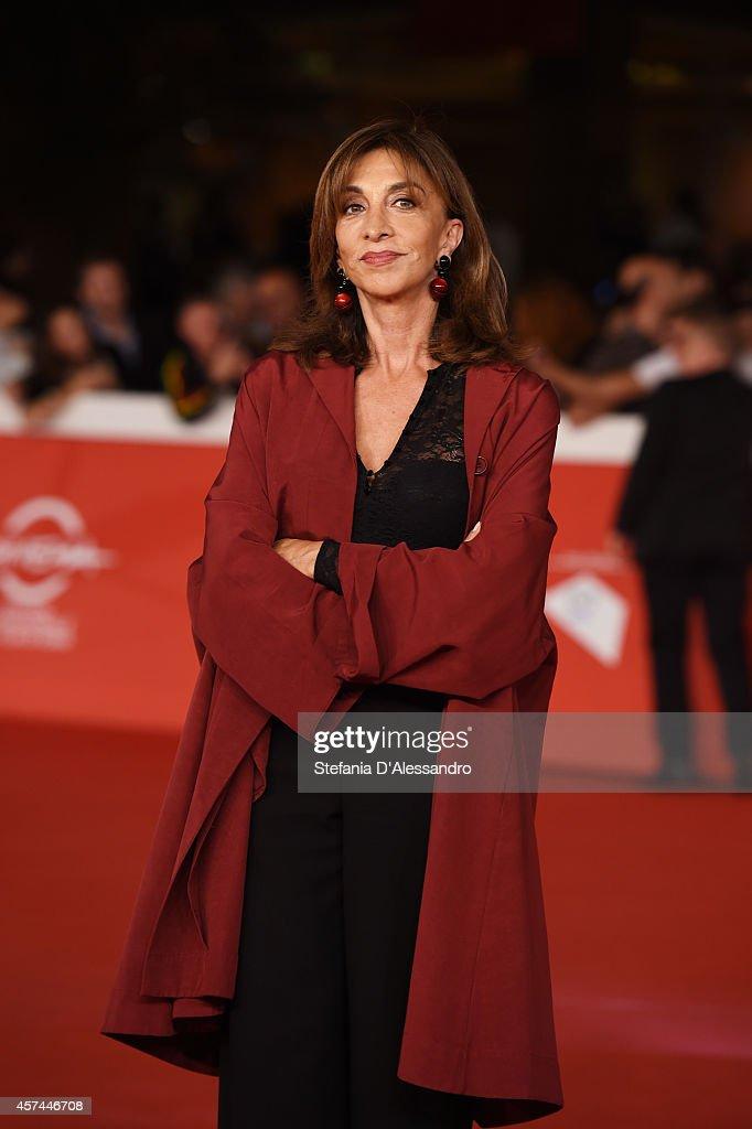 Anna Bonaiuto attends the 'Buoni A Nulla' Red Carpet during The 9th Rome Film Festival at Auditorium Parco Della Musica on October 18 2014 in Rome...