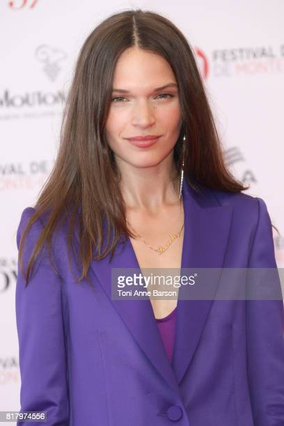 Anna Brewster arrives at the Opening Ceremony of the 57th Monte Carlo TV Festival and World premier of Absentia Serie on June 16 2017 in MonteCarlo...