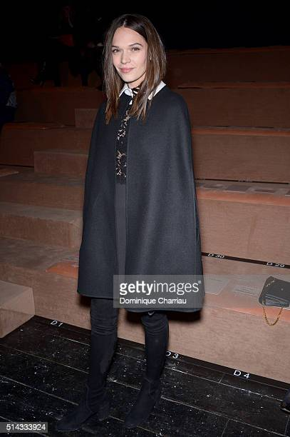 Anna Brewster attends the Valentino show as part of the Paris Fashion Week Womenswear Fall/Winter 2016/2017 on March 8 2016 in Paris France