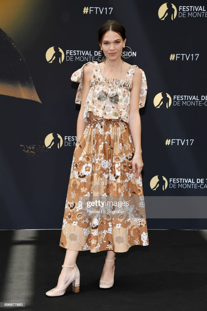 Anna Brewster from 'Versailles' attends a photocall during the 57th Monte Carlo TV Festival : Day 2 on June 17, 2017 in Monte-Carlo, Monaco.