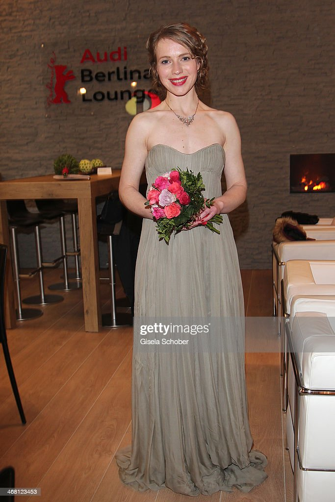 Anna Brueggemann attends the AUDI Lounge at the Marlene Dietrich Platz during day 4 of the Berlinale International Film Festival on on February 9, 2014 in Berlin, Germany.