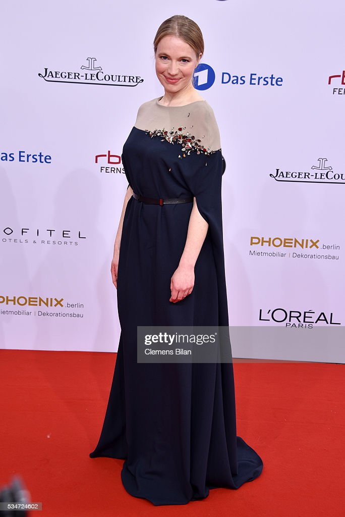 Anna Brueggemann attends the Lola - German Film Award (Deutscher Filmpreis) on May 27, 2016 in Berlin, Germany.
