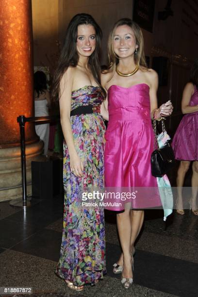 Anna Burke and Molly Peters attend AMERICAN MUSEUM OF NATURAL HISTORY'S 2010 Museum Dance Sponsored by LILLY PULITZER at the American Museum of...