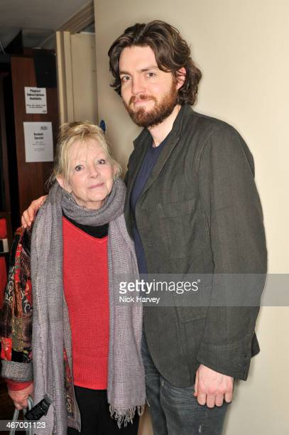 Anna CalderMarshall and Tom Burke attend the press night for 'The Mistress Contract' at Royal Court Theatre with Quintessentially Vodka on February 5...