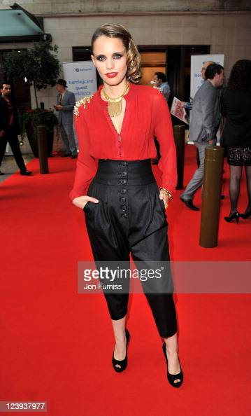 Anna Calvi arrives at the 2011 Barclaycard Mercury Prize Album of the Year at Grosvenor House on September 6 2011 in London England