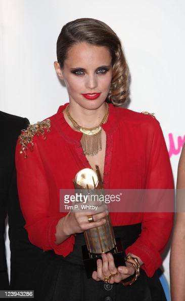 Anna Calvi attends the Barclaycard Mercury Prize at Grosvenor House on September 6 2011 in London England