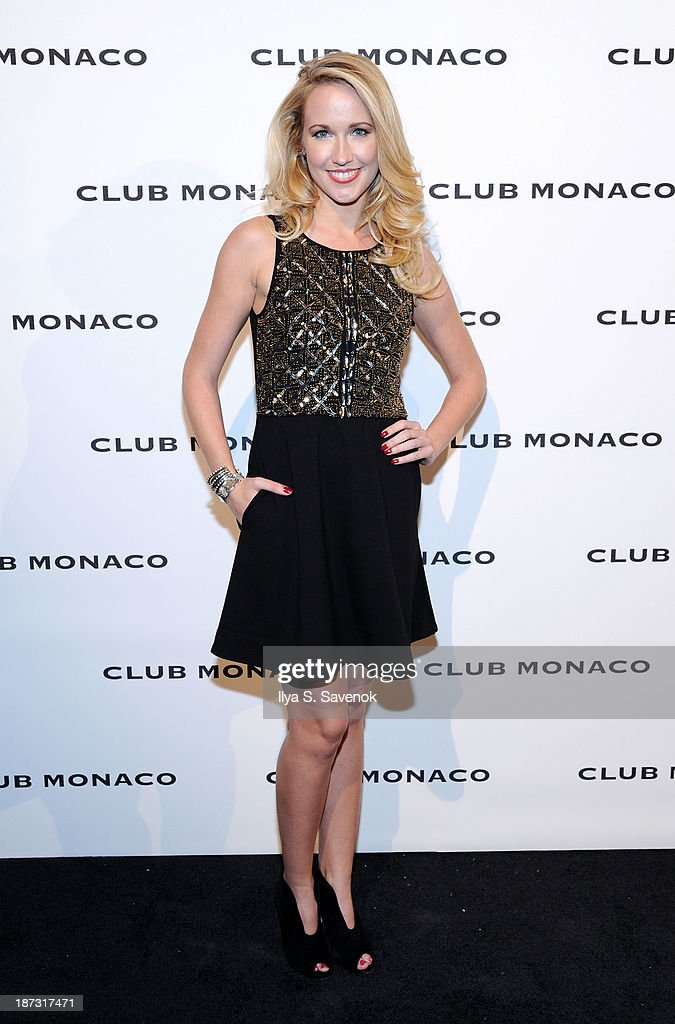 Anna Camp attends the opening celebration of Club Monoco's Fifth Avenue Flagship at Club Monaco Fifth Avenue on November 7, 2013 in New York City.