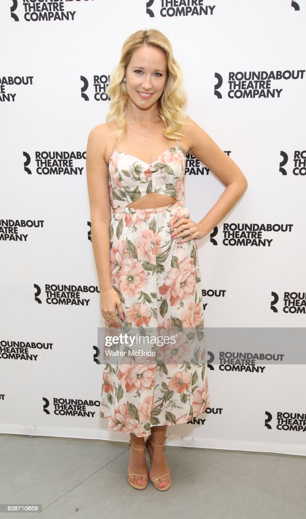 Anna Camp attends the press photocall for the Roundabout Theatre Company's production of 'Time and the Conways' at The Roundabout Theatre Studios on August 24, 2017 in New York City.
