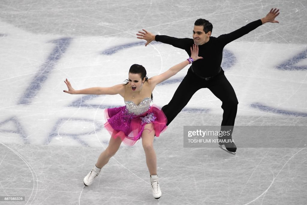 Анна Капеллини - Лука Ланоте / Anna CAPPELLINI - Luca LANOTTE ITA - Страница 10 Anna-cappellini-and-luca-lanotte-of-italy-compete-during-the-ice-picture-id887585326