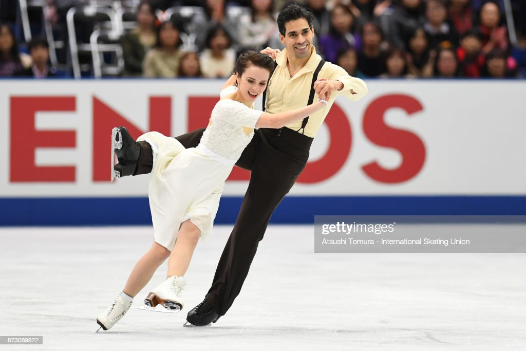 Анна Капеллини - Лука Ланоте / Anna CAPPELLINI - Luca LANOTTE ITA - Страница 9 Anna-cappellini-and-luca-lanotte-of-italy-compete-in-the-ice-dace-picture-id873089822