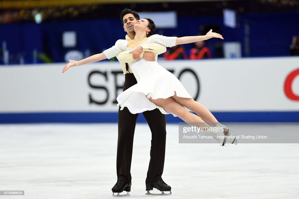 Анна Капеллини - Лука Ланоте / Anna CAPPELLINI - Luca LANOTTE ITA - Страница 9 Anna-cappellini-and-luca-lanotte-of-italy-compete-in-the-ice-dace-picture-id873089828