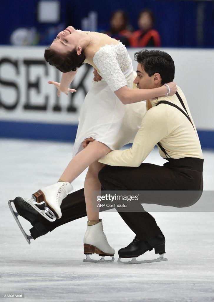 Анна Капеллини - Лука Ланоте / Anna CAPPELLINI - Luca LANOTTE ITA - Страница 9 Anna-cappellini-and-luca-lanotte-of-italy-perform-during-the-ice-picture-id873087396