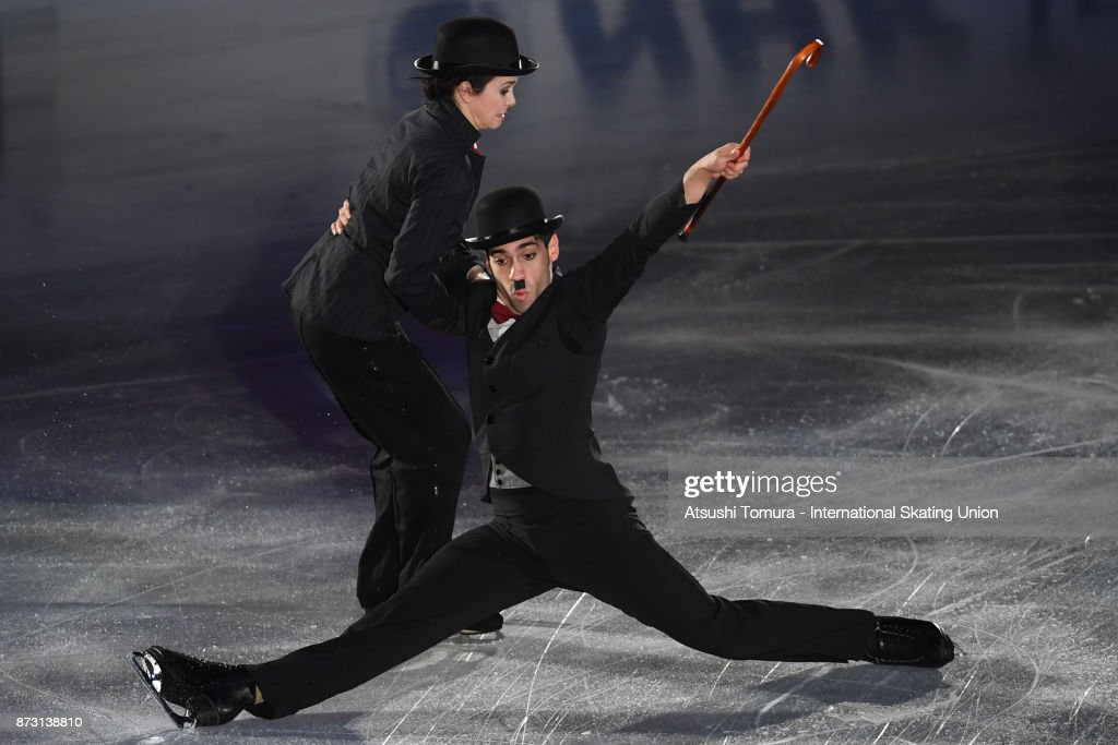 Анна Капеллини - Лука Ланоте / Anna CAPPELLINI - Luca LANOTTE ITA - Страница 9 Anna-cappellini-and-luca-lanotte-of-italy-perform-in-the-gala-during-picture-id873138810