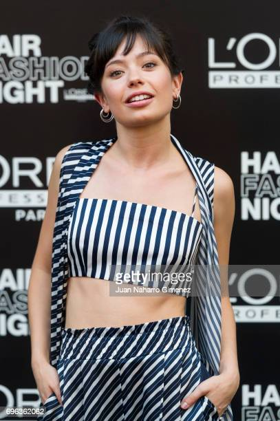 Anna Castillo attends Hair Fashion Night photocall at Callao Cinema on June 15 2017 in Madrid Spain