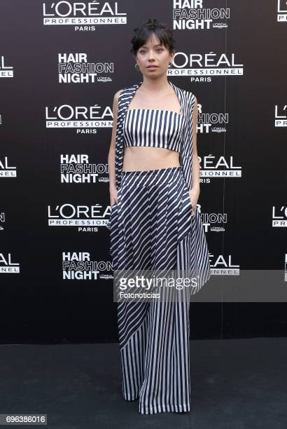 Anna Castillo attends the Hair Fashion Night photocall at Callao cinema on June 15 2017 in Madrid Spain