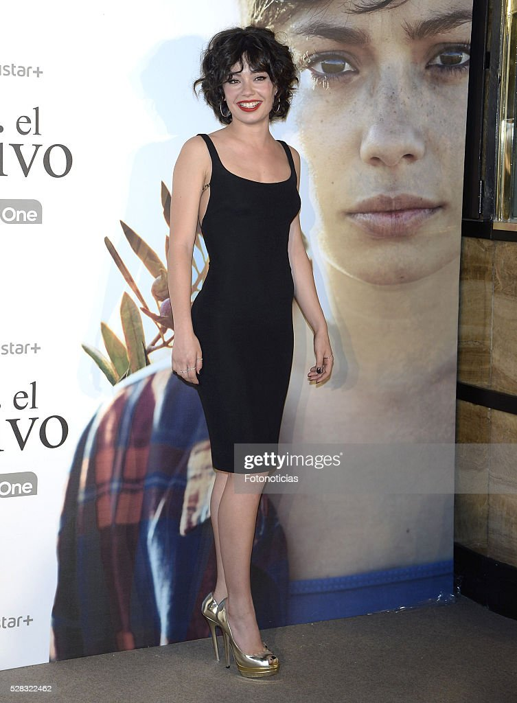 Anna Castillo attends the premiere of 'El Olivo' at the Capitol cinema on May 4, 2016 in Madrid, Spain.