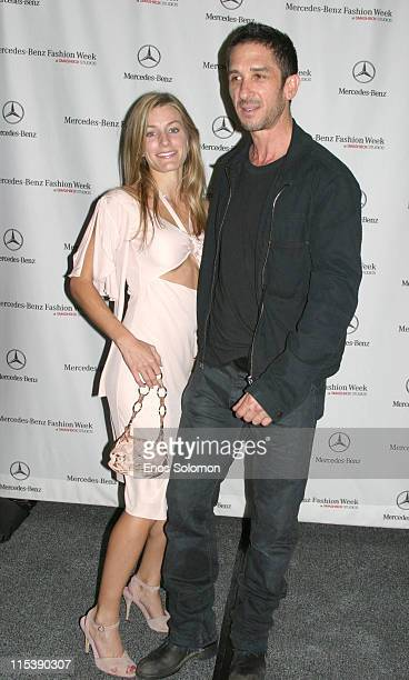 Anna Catherine and Davis Factor during MercedesBenz Spring 2006 LA Fashion Week at Smashbox Studios Louis Verdad Arrivals at Smashbox Studios in...