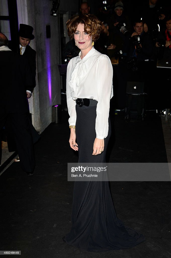 Anna Chancellor attends the Evening Standard Theatre Awards at The Savoy Hotel on November 17, 2013 in London, England.