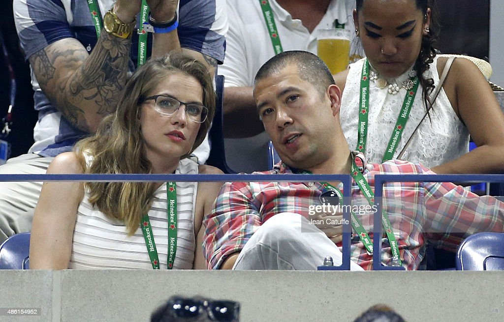 Anna Chlumsky and her husband Shaun So attend the 15th Annual USTA Opening Night Gala on Day 1 of the 2015 US Open at USTA Billie Jean King National...
