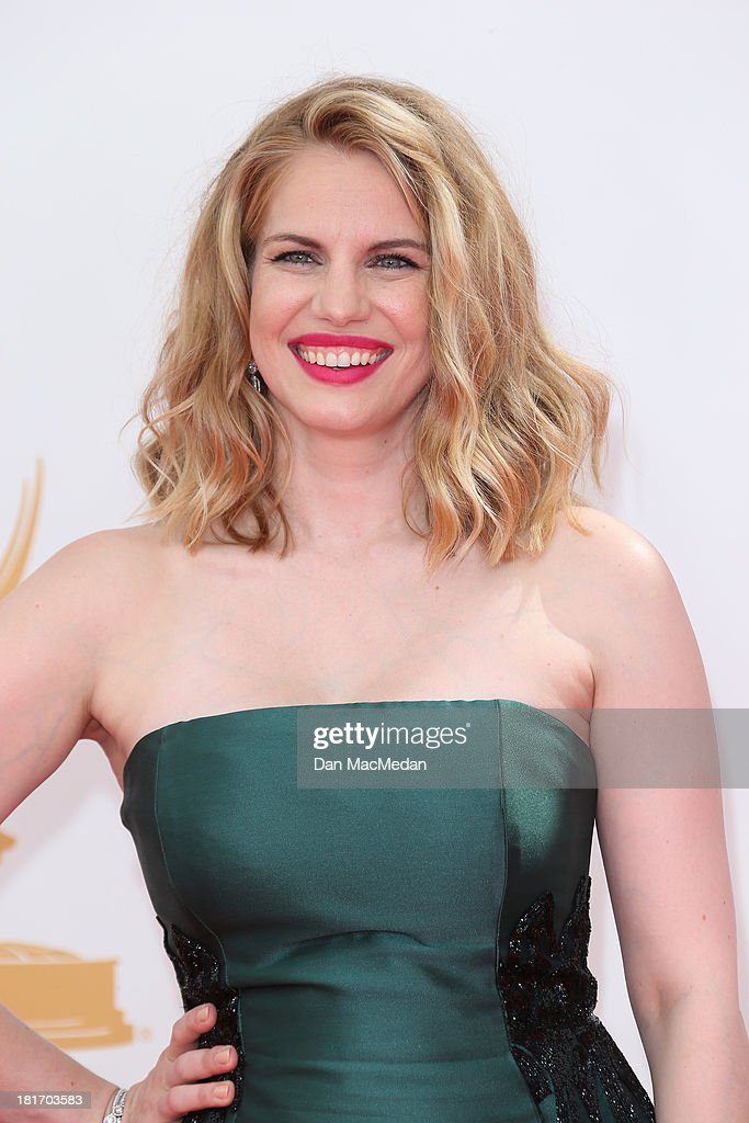 Anna Chlumsky arrives at the 65th Annual Primetime Emmy Awards at Nokia Theatre L.A. Live on September 22, 2013 in Los Angeles, California.