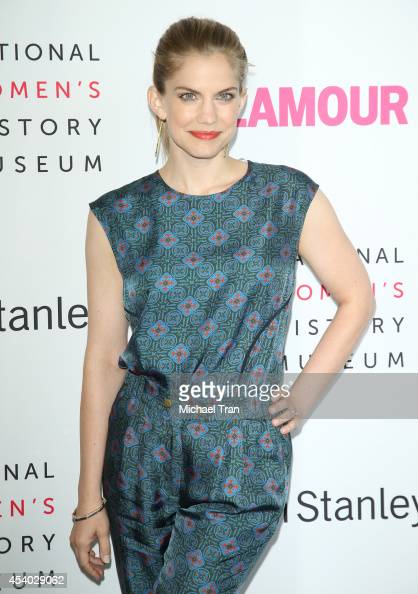Anna Chlumsky arrives at the National Women's History Museum's 3rd Annual Women Making History event held at Skirball Cultural Center on August 23...