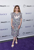 Anna Chlumsky attends as The Paley Center for Media hosts an evening with the cast of 'VEEP' at Paley Center For Media on April 7 2015 in New York...