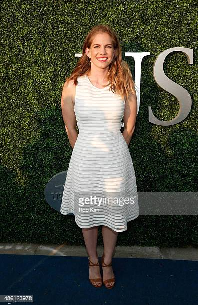 Anna Chlumsky attends the 15th Annual USTA Opening Night Gala at USTA Billie Jean King National Tennis Center on August 31 2015 in New York City