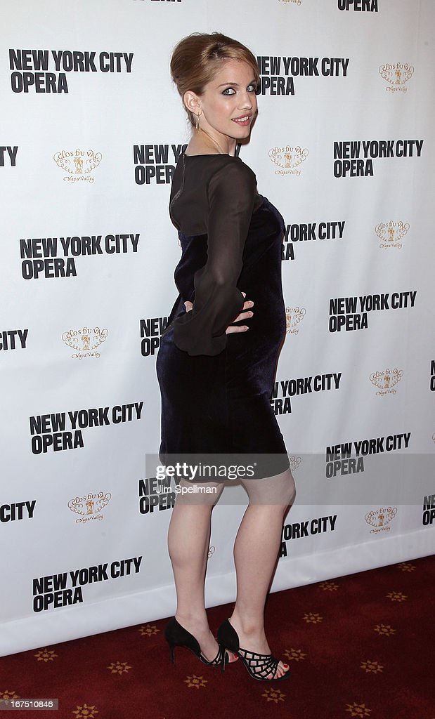 Anna Chlumsky attends the 2013 New York City Opera Spring Gala at New York City Center on April 25, 2013 in New York City.