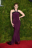 Anna Chlumsky attends the 2015 Tony Awards at Radio City Music Hall on June 7 2015 in New York City