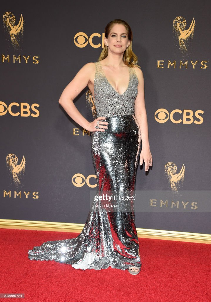 Anna Chlumsky attends the 69th Annual Primetime Emmy Awards at Microsoft Theater on September 17, 2017 in Los Angeles, California.