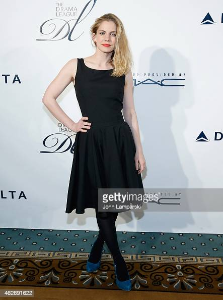 Anna Chlumsky attends The Drama League's 31st Annual Musical Celebration Of Broadway at The Pierre Hotel on February 2 2015 in New York City