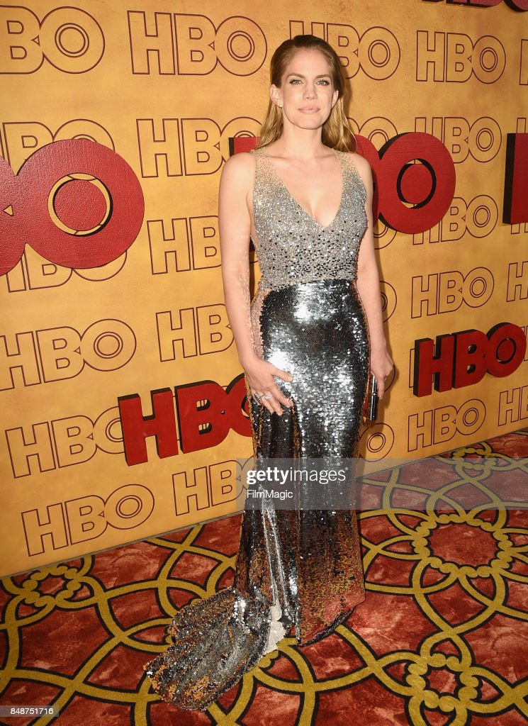 Anna Chlumsky attends the HBO's Official 2017 Emmy After Party at The Plaza at the Pacific Design Center on September 17, 2017 in Los Angeles, California.