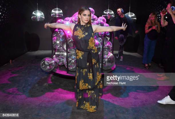 Anna Chlumsky attends the Refinery29 Third Annual 29Rooms Turn It Into Art event on September 7 2017 in the Brooklyn borough of New York City