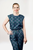 Anna Chlumsky poses for a portrait at the BAFTA luncheon on August 23 2014 in Los Angeles California