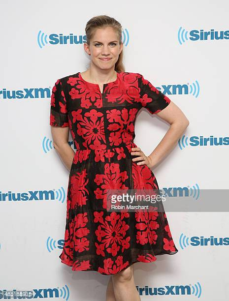 Anna Chlumsky visits at SiriusXM Studios on August 25 2015 in New York City