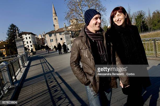 Anna Ciriani walks with her husband in the city of Pordenone in northern Italy Anna Ciriani a history and literature teacher was fired from her...