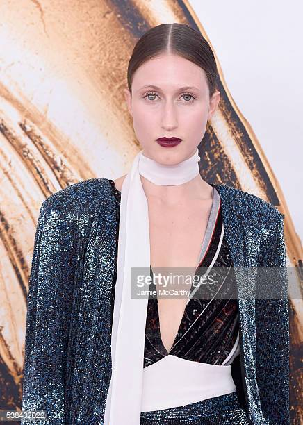Anna Cleveland attends the 2016 CFDA Fashion Awards at the Hammerstein Ballroom on June 6 2016 in New York City